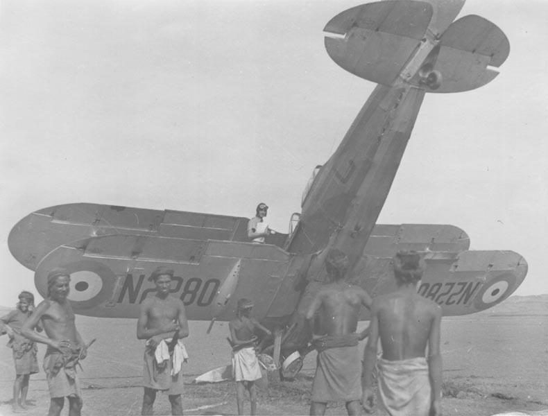 Les opérations aériennes en AOI Haywood_1